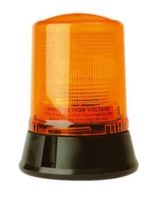 Lap221 Static-flashing Airport-cap168 3-bolt 12v - flashing-beacons.co.uk