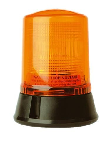 Lap221 Static-flashing Airport-cap168 3-bolt 12v - flashing-beacons.co.uk