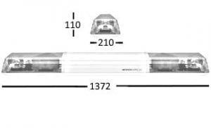 Esg 60-series 1372mm 12v Sti - flashing-beacons.co.uk