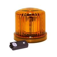 Ic360 Battery-powered Led Magnetic-mount Remote-control - flashing-beacons.co.uk