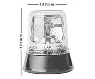 Lap254 3-bolt Halogen 12v - flashing-beacons.co.uk