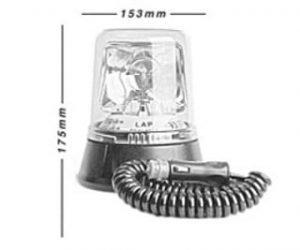 Lap259 Magnetic Halogen 12v - flashing-beacons.co.uk