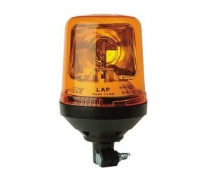 Lap269 Din-pole-mount Halogen 12v - flashing-beacons.co.uk