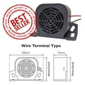 Ra097w Reversing Alarm Wire-lead 97db - flashing-beacons.co.uk