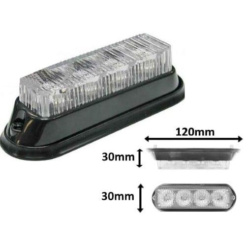 Ic360 Standard 4led Module 12v-24v - flashing-beacons.co.uk