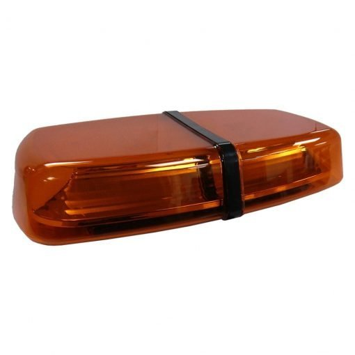 Ic360 Amber Lens Magnetic-mounted 310mm R65-approved Smd 12v-24v - flashing-beacons.co.uk