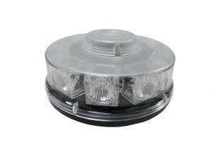 Ic360 Low-profile Led-mine Magnetic-mount 12v-24v - flashing-beacons.co.uk