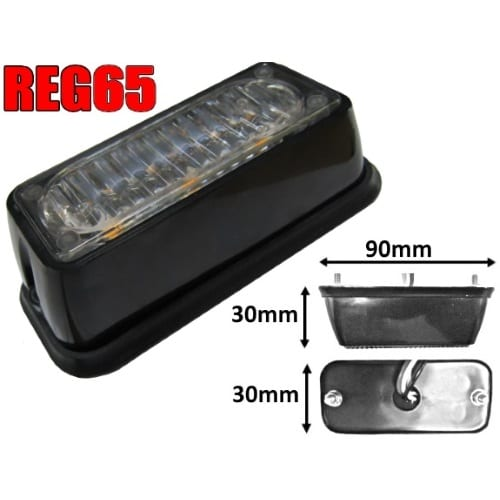 Ic360 Reg65 3led Module 12v-24v - flashing-beacons.co.uk