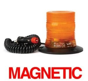 Lap-xcb0206 Compact Xenon Magnetic 12v-24v - flashing-beacons.co.uk