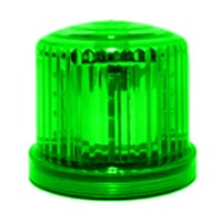 Ic360 Battery-powered Green-led Magnetic-mount - flashing-beacons.co.uk