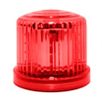 Ic360 Battery-powered Red-led Magnetic-mount - flashing-beacons.co.uk