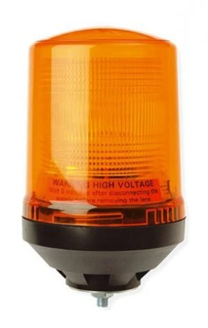 Lap225 Static-flashing Airport-cap168 Single-bolt 12v - flashing-beacons.co.uk